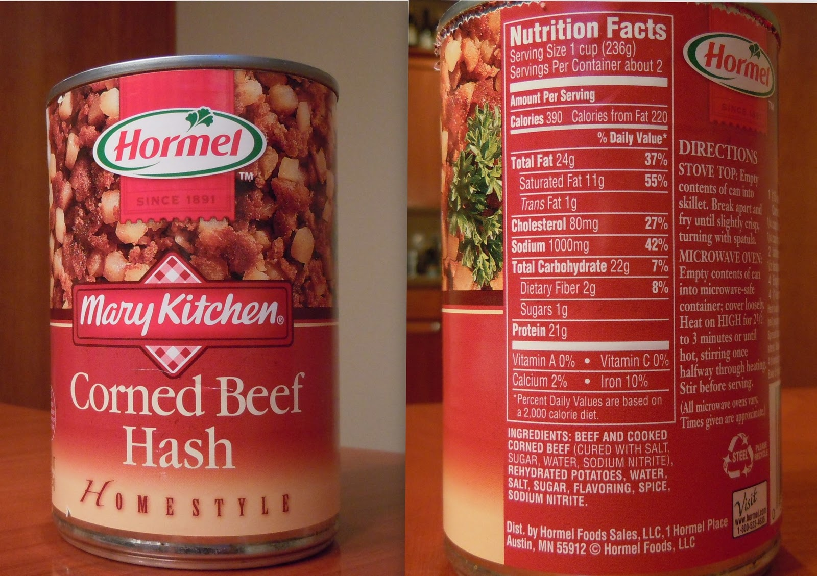 Mary Kitchen Corned Beef Hash Review