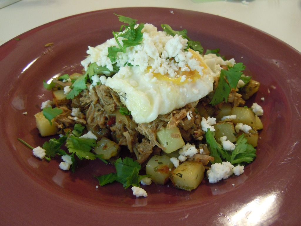 Chipotle Carnitas Hash in Casper, Wyoming